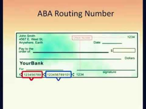 How to Find US Bank Routing Number List and aba Routing Number List