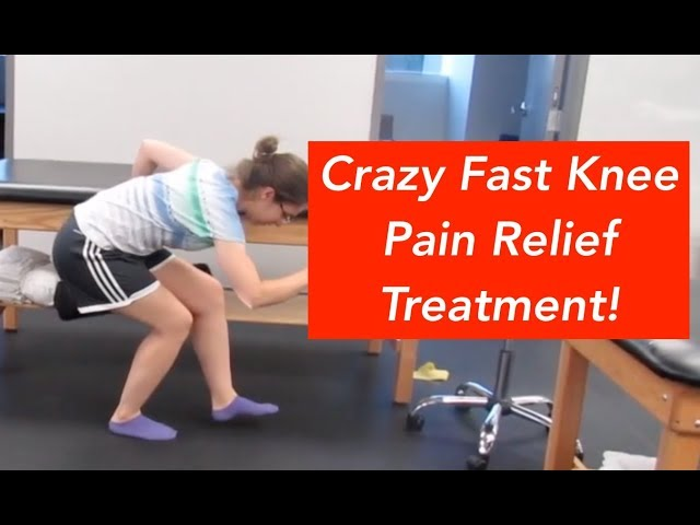 Crazy Fast Knee Pain Relief Treatment!