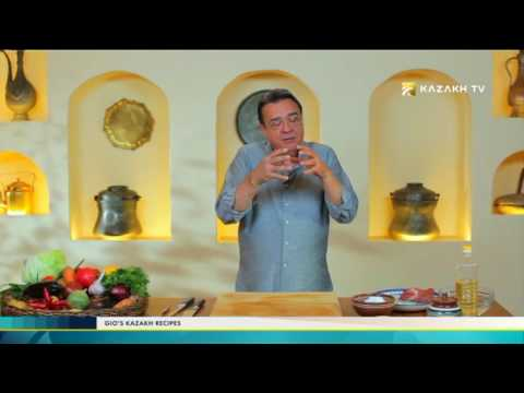"""Gio's Kazakh Recipes"" #4 (22.11.2016) - Kazakh TV"