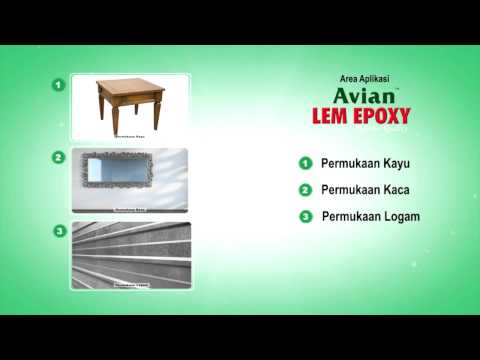 Video Tutorial Avian Lem Epoxy