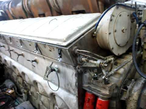 Motor V16 GM - 2 tempos - Locomotiva ALL