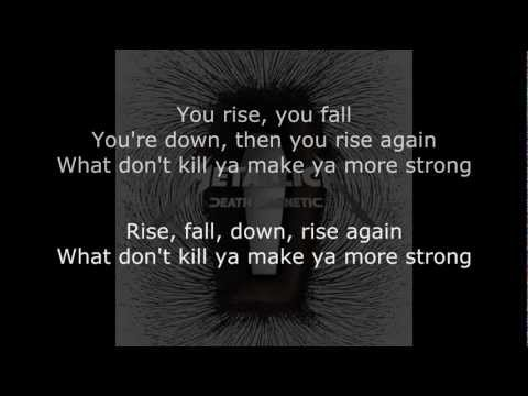 Metallica - Broken, Beat, & Scarred Lyrics (HD)