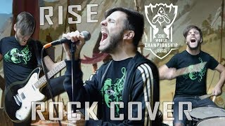 RISE | Worlds 2018 - League of Legends (Rock Cover by ShaunTrack)