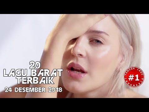 20 Lagu Barat Terbaik  (24 Desember  2018)