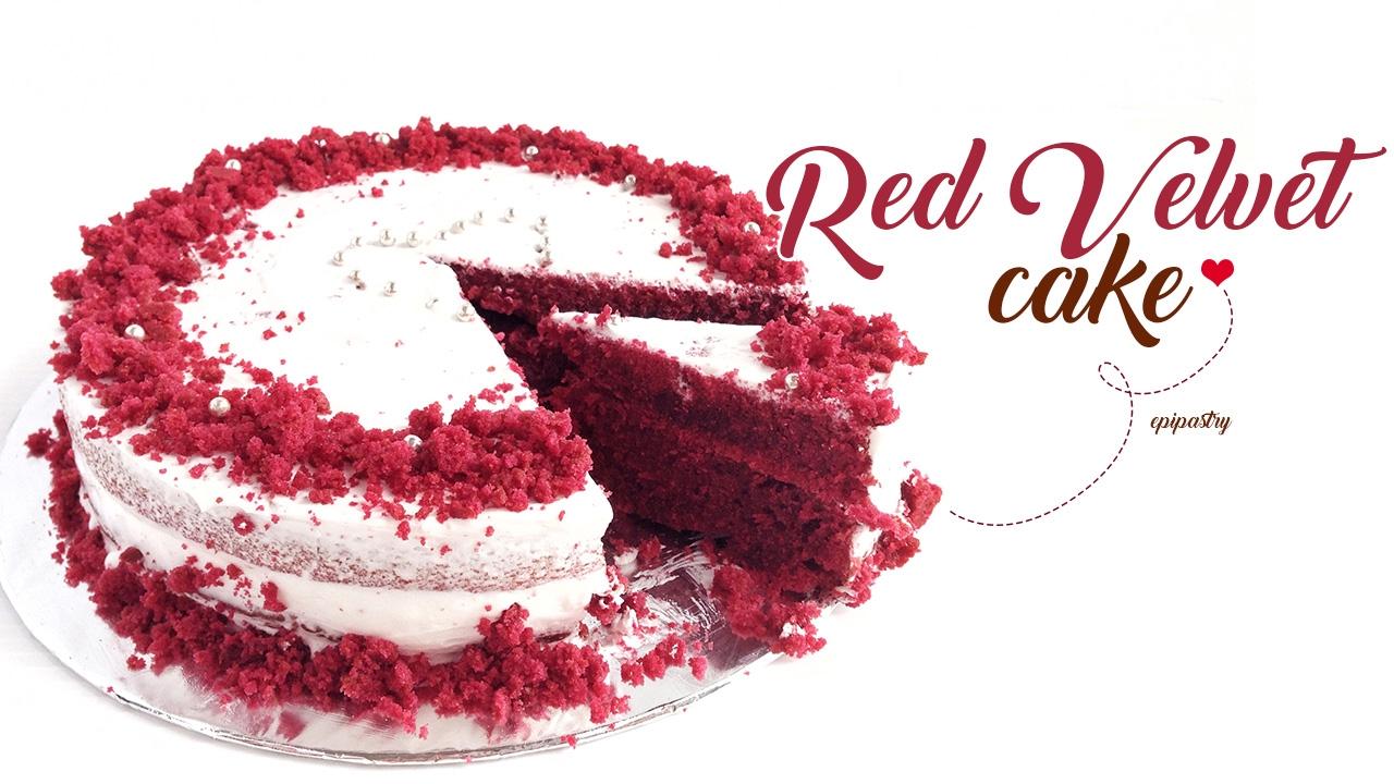 Red Velvet Cake Tube Pan