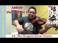 C2: The Muppet Show Theme | Practice | ABRSM Violin Grade 1 Exam 2016-2019