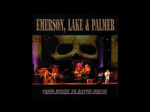 Emerson, Lake & Palmer (ELP) Live in Baton Rouge, LA 3/1/1974