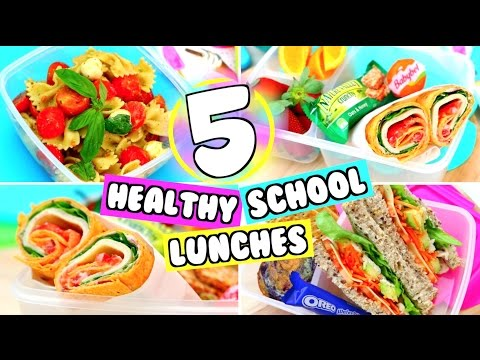 5 EASY SCHOOL LUNCH IDEAS! YUMMY LUNCH IDEAS FOR SCHOOL!