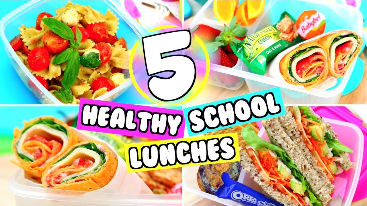 5 Diy Easy School Lunch Ideas Yummy Lunch Ideas For School