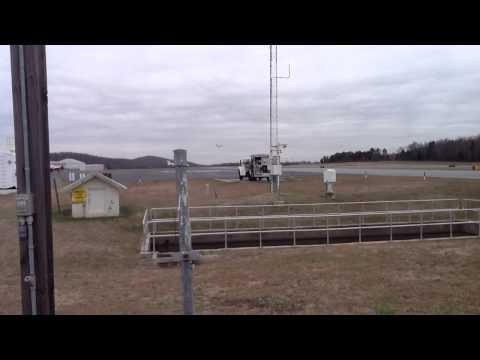 Osprey landing in Asheboro NC