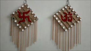 How to make OM and SATYA wall hanging !! DIWALI Special Home Decor!!!!