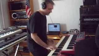 Heaven & Earth - Man & Machine, House Of Blues... (keyboard cover)