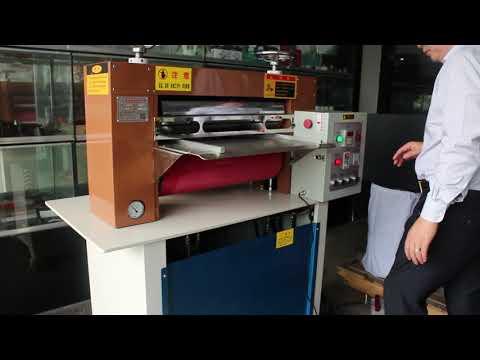 Hydraulic Temperature Rolling Flat embossing machine