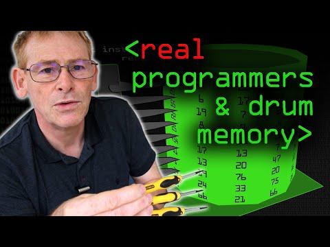 """Real"" Programmers & Drum Memory - Computerphile"