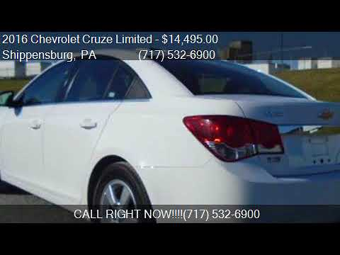 2016 Chevrolet Cruze Limited 1LT Auto 4dr Sedan w/1SD for sa