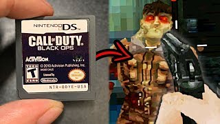 THIS is Call of Duty Zombies on NINTENDO DS...