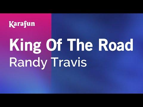 Karaoke King Of The Road - Randy Travis *