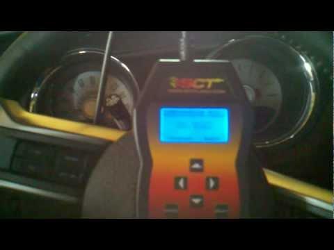2011 Mustang GT SCT FLASH handheld tuner has been failing to