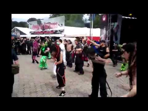 Cybergoth Dance Holly Dolly funny