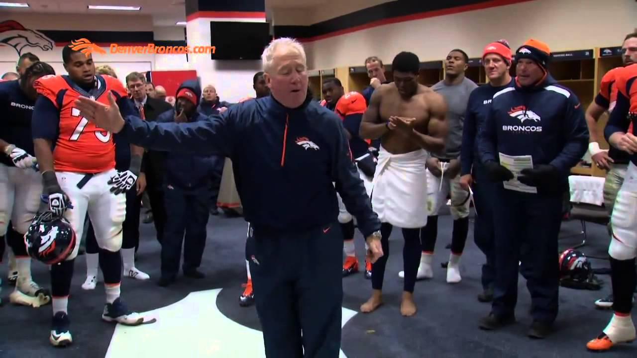 Denver Broncos Locker Room Speech After Win Vs Tennessee