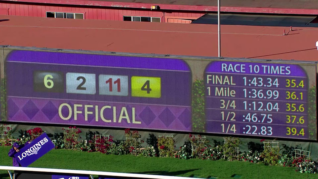 2017 Sentient Jet Breeders Cup Juvenile All Angles