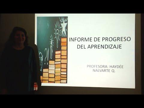INFORME DE PROGRESO DEL APRENDIZAJE