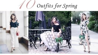 10套 平價春季穿搭 購物分享 | Spring  Shopping Haul | Pieces of C - Celine
