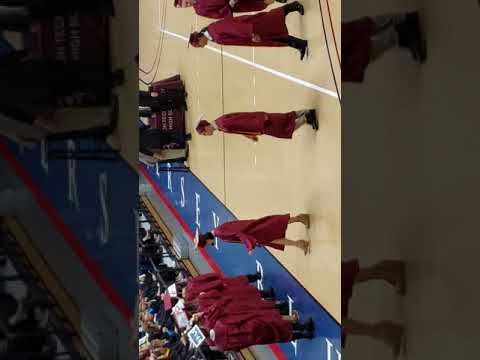 Kaishawn Williams High school graduation from High Technology High School
