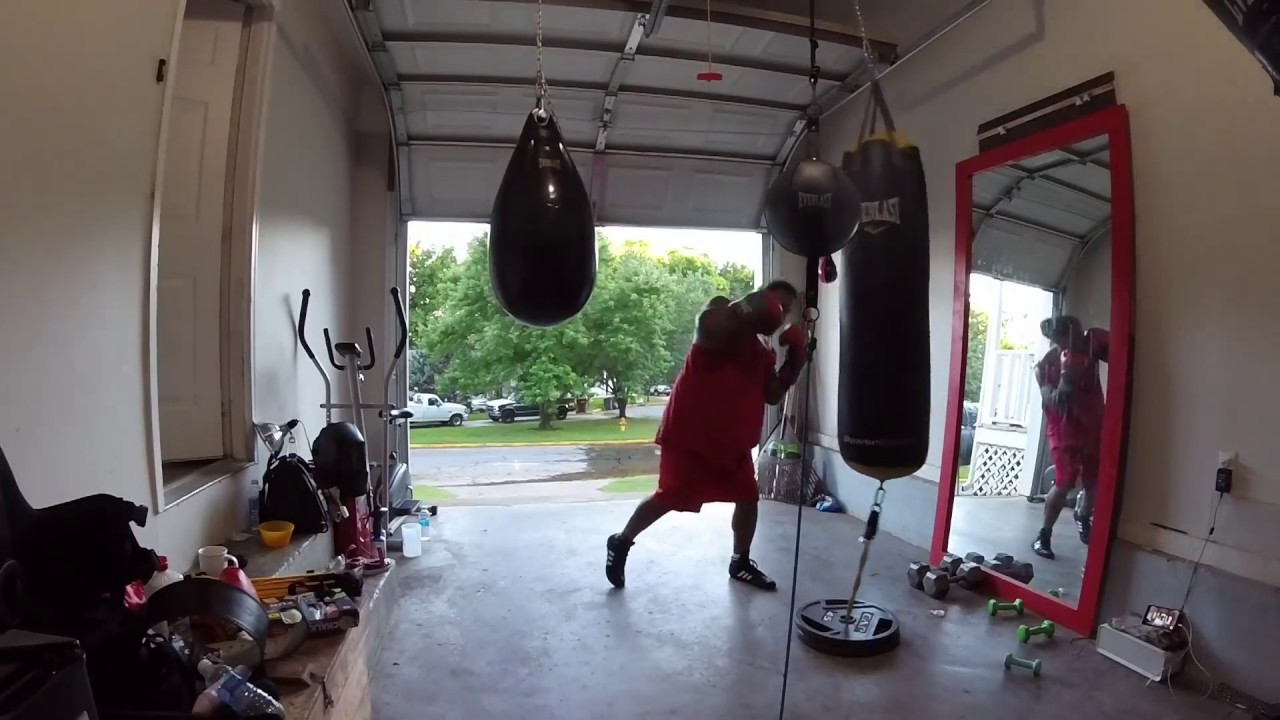 Every day training boxing garage gym youtube