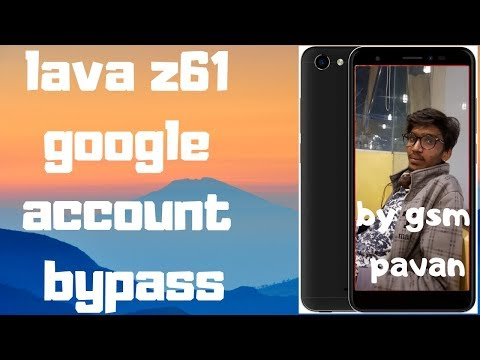 lava z61 8 0 frp unlock and google account bypass without pc