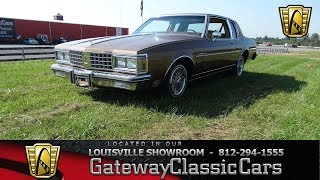 1985 Oldsmobile Delta 88 Royale Brougham - Louisville Showroom - Stock # 1960