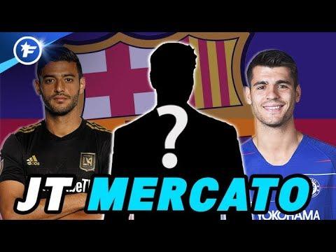 Le Barça fait tout pour renforcer son attaque   Journal du Mercato