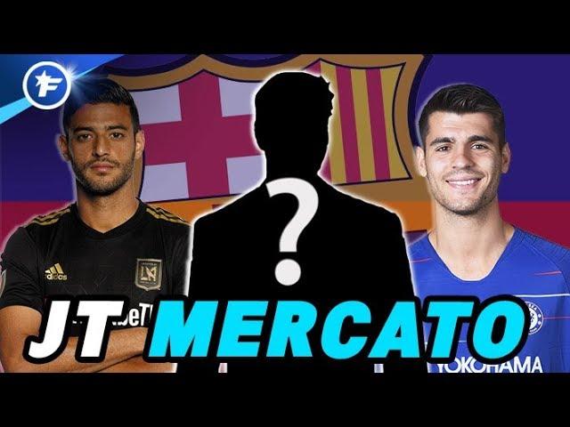 Le Barça fait tout pour renforcer son attaque | Journal du Mercato