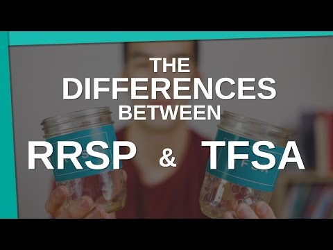 The Differences Between an RRSP vs a TFSA - Young Guys Finance