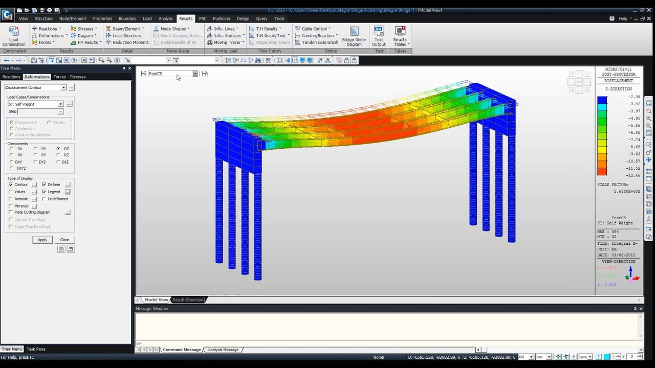 Steel Bridge Design Software