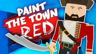 AMAZING PIRATE CAVE EXPLORATION! (Best Workshop Creations - Paint The Town Red Funny Gameplay)