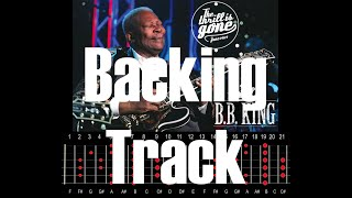 BB King Style Backing Track   The Thrill is Gone   B Minor