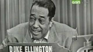 Duke Ellington on
