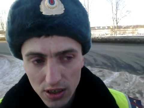 Северодвинск. гаишники нарушают пункт 12.4 ПДД