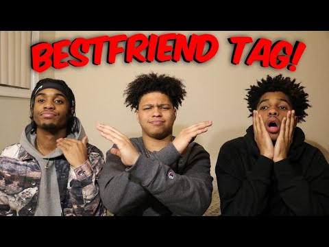 How well do we know each other?🤔 HILARIOUS BEST FRIEND TAG‼️👨👨👦 PART 1