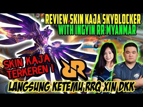 REVIEW SKIN BARU KAJA EPIC SKYBLOCKER WITH INGYIN RR!! LANGSUNG KETEMU RRQ XIN DKK | Donkey Bar Bar