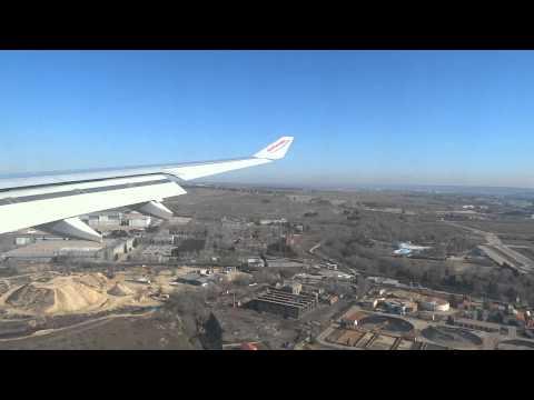 Air Europa A330 Landing at Madrid Barajas LEMD