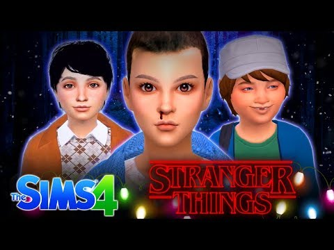 👻 STRANGER THINGS...👻 - In the Sims 4!