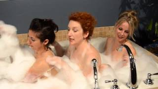 Three Girls In a Tub - Gratuitous Nudity