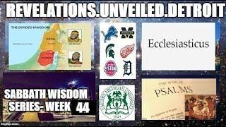 Sabbath WISDOM Series Week-44. A Wisdom Celebration! #IADOS
