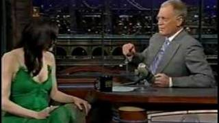 Renee Zellweger on Letterman-BJD2-part1