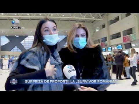 """Stirile Kanal D - Surpriza uriasa la """"Survivor""""! Ce au spus Irina si Raluca la plecarea din Romania?"""