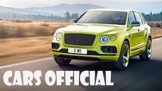 Bentley NEW production SUV Speed Record