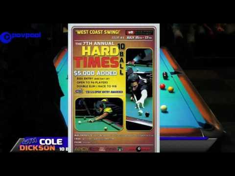 #6 • Dave VINCENT vs Patrick RHEA • 2016 Cole Dickson 10 Ball