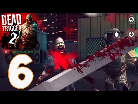 DEAD TRIGGER 2 - Gameplay Walkthrough part 6 - China Difficulty Hard(iOS, Android)